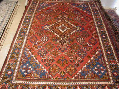 Blue Josheghan Semiantique Persian Rug